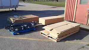 """SEVERAL SECTIONS OF NEW SHELVING - 72""""L X 18""""W X 72""""H"""