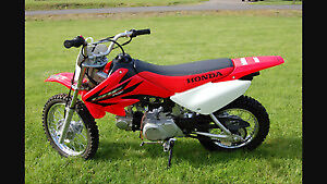 Looking for Honda dirt bike. Around 70 cc. Working or for parts