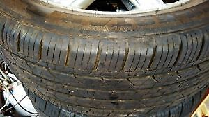 tires on rims 245/55/R19 6 months use