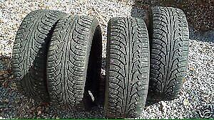 4 STUDDED Nokian hakkapeliitta 5  winter tires - 205/70 r15