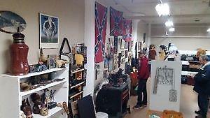 Indoor yard sale --- Monday