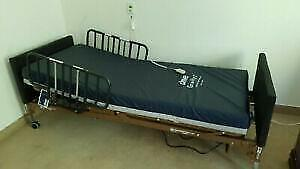 New Hospital Bed + New Medical Mattress - Fully Electric Model Controlled Via Remote - Great for loved ones at home