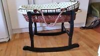 Piccolo bassinet blue