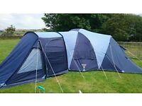 Vango Diablo 600, family tent.