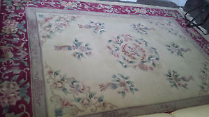 100% HAND TUFTED ORIENTAL WOOL RUG (TOP QUALITY)