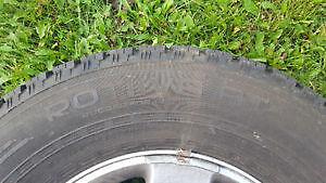 LT275/70R17 Nokian C load tires/w/jk rims