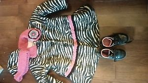 Beautiful Girls size  3/4 Brand name lot of Fall outer clothes