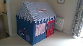 Kids Cotton Play Tent / Wendy House - excellent condition
