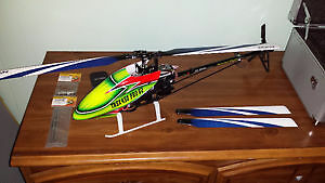 A Genuine 100% T-Rex 450 flybarless 450 helicopter
