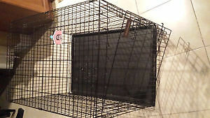 Large Portable Dog Cage in Great Condition