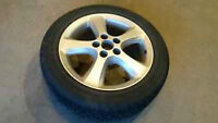 5 OEM alloy rims + 5 snow tires + Free delivery
