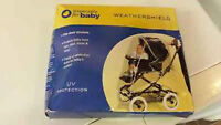 Baby weather shield for stroller (new)