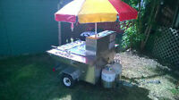 Hot Dog cart and Accessories