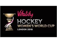 Tickets to the women's hockey World Cup - England games included