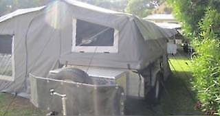 2012 Ezytrail Camper Trailer Ngunnawal Gungahlin Area Preview