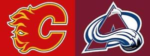 Best Prices>>Calgary Flames v. Colorado Avalanche SAT Feb 24 2PM