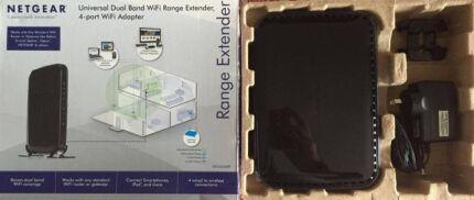 New Netgear Universal Dual Band WiFi Extender