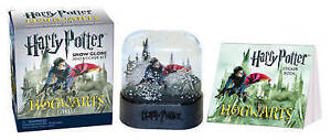 Miniature Editions: Harry Potter Hogwarts Castle Snow Globe and Sticker Kit