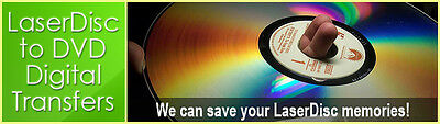 Laserdisc Transfer / Convert / Copy to DVD or MP4