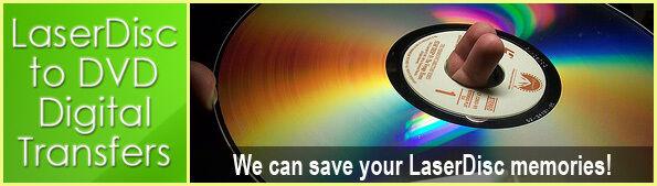Laserdisc Transfer / Convert / Copy to DVD or MP4