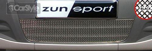 ZunSport Vauxhall / Opel Vivaro 2007-2010 Black Steel Mesh Lower Grille