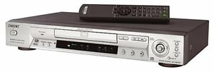 SONY Silver DVD/Audio CD Player (Model # DVP-NS715P)