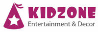 KIDZONE - LOOKING FOR FACE PAINTERS, BALLOON DECOR STAFFS