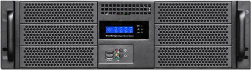 "3U LCD(6x5.25""+4xHD)(Rackmount Chassis)(Take MiniRedundant)(Extend mATX Case)NEW"