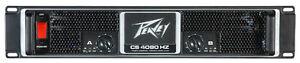 Peavey CS4080HZ 4000 watt Power Amplifier Like New, Barely Used
