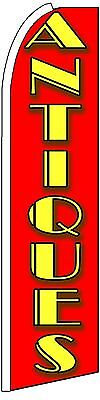 Antiques King Size Polyester Swooper Flag Banner Sign