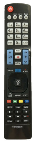 New Replacement Tv Remote Control Akb73756502 For All Lg Lcd Led Hdtv Smart Tv