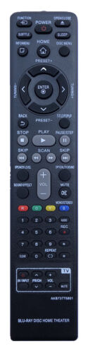New Remote Control Akb73775801 For Lg Blu-ray Disc Home Theater Lhb675 Bh5440p