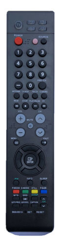 New Remote Control Bn59-00511a For Samsung Tv Dvd Vcr Lns4051d Hps4233 Lns4092dx