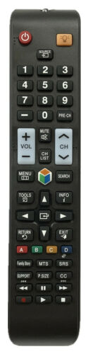 New Usbrmt Replacement Remote Aa59-00580a For All Samsung Smart Tvs
