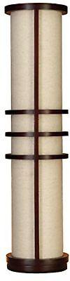 Deco 79 Wood Floor Lamp Made of Brown Wood