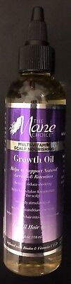 THE MANE CHOICE MULTI-VITAMIN SCALP NOURISHING HAIR GROWTH OIL 4OZ FREE SHIPPING (Vitamins Hair Scalp)