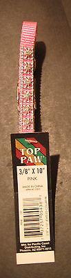 Top Paw Pink Jewel Studded Dog Collar