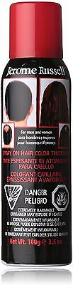 Jerome Russell Spray-On Hair Color Thickener, Dark Brown 3.50 oz (Pack of 6)](Bulk Colored Hair Spray)