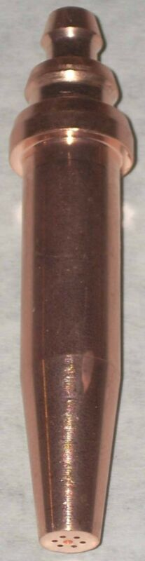 2 Oxy Acetylene Cutting Torch Tips 164-1 fits Airco New!