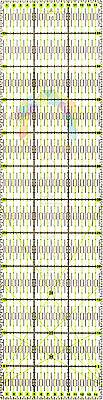 60cm x 15cm Quilting Patchwork Ruler Premium Rotary Craft Rectangle Metric