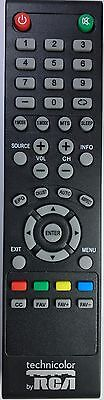 Original New Technicolor by RCA  TV Remote for most Technicolor RCA LED LCD TVs (Rca Remote Control)