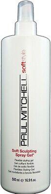 Gel 16 Oz Spray - Paul Mitchell - Soft Style Spray Gel 16oz