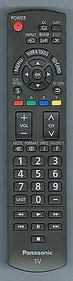 Panasonic OEM Remote N2QAYB000485, TCL42U25, TCL32U22, TCL32X2, TCP50S2 TH32LRU5