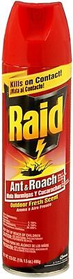 (Raid Ant and Roach Spray Outdoor Fresh 17.50 oz (Pack of 3))