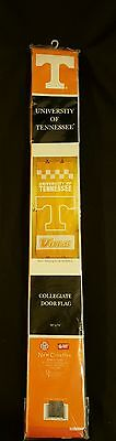 Ncaa Door Flag - NCAA University of Tennessee Volunteers Vol Collegiate College Hanging Door Flag