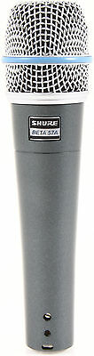 New Shure BETA 57A Instrument Vocal Mic Authorised Dealer Best Deal on