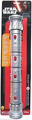 STAR WARS Light Saber DOUBLE RED DARTH MAUL SITH LORD Lightsaber Licensed NEW