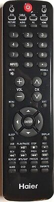 Original New Haier HTR-D11  Remote for Haier LED LCD TV/DVD COMBO for sale  Shipping to India