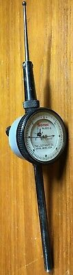 Starrett No.650-5 Back-plunger Dial Indicator 0-20-0 Dial Reading 0005 Grads
