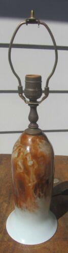 Exceptional Vintage / Antique Grant Studio Art Glass Lamp Signed Art Nouveau